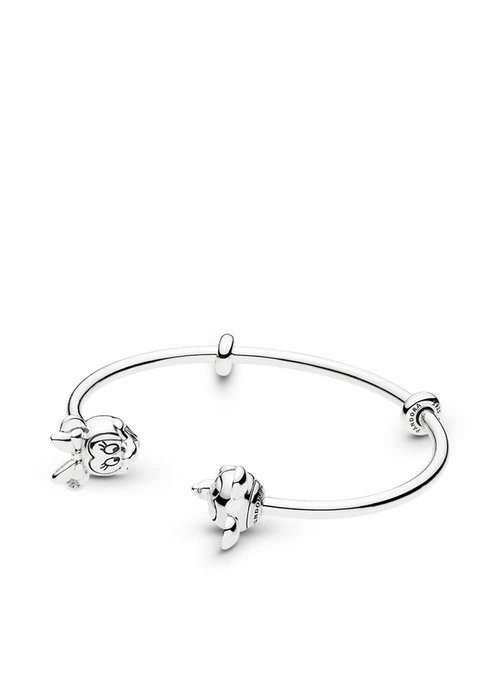 Pandora Disney, Mickey & Minnie Open Bangle Bracelet