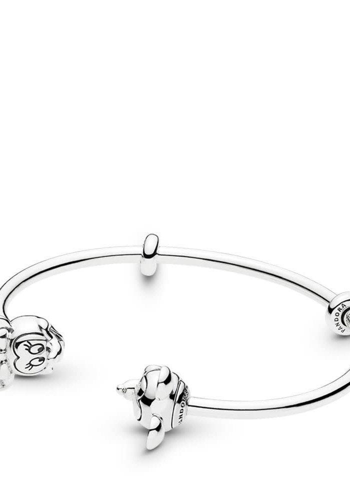 Disney, Mickey & Minnie Open Bangle Bracelet