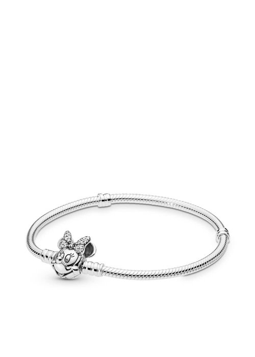 Pandora Disney, Shimmering Minnie Portrait Bracelet