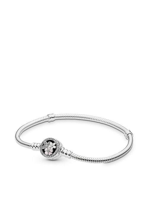 Pandora Poetic Blooms Bracelet, Mixed Enamels & Clear CZ