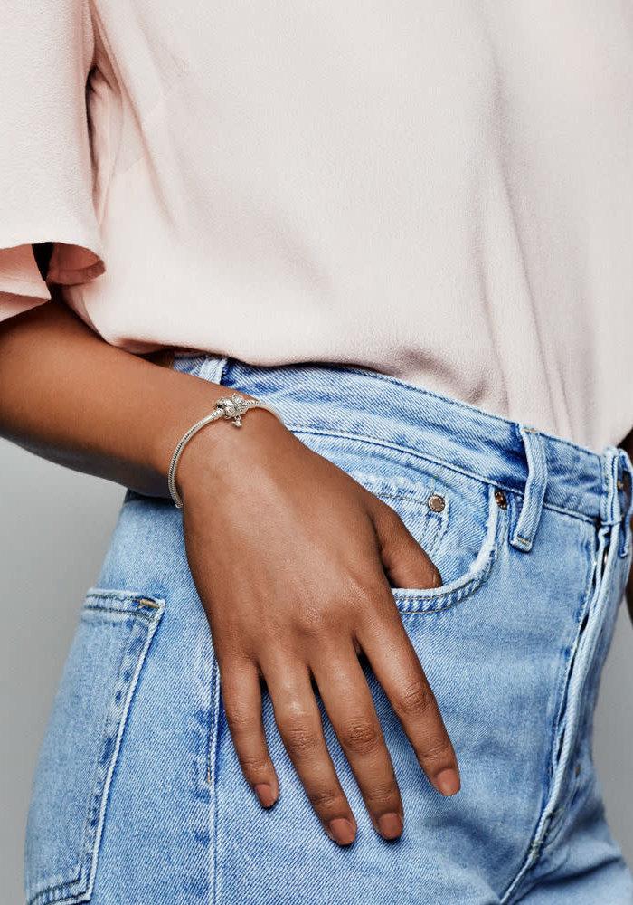 Butterfly Clasp  Bracelet