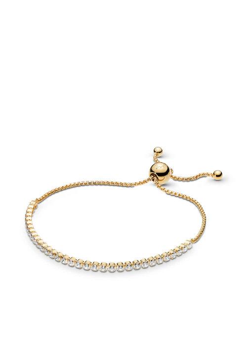 Pandora Sparkling Strand Bracelet, PANDORA Shine™