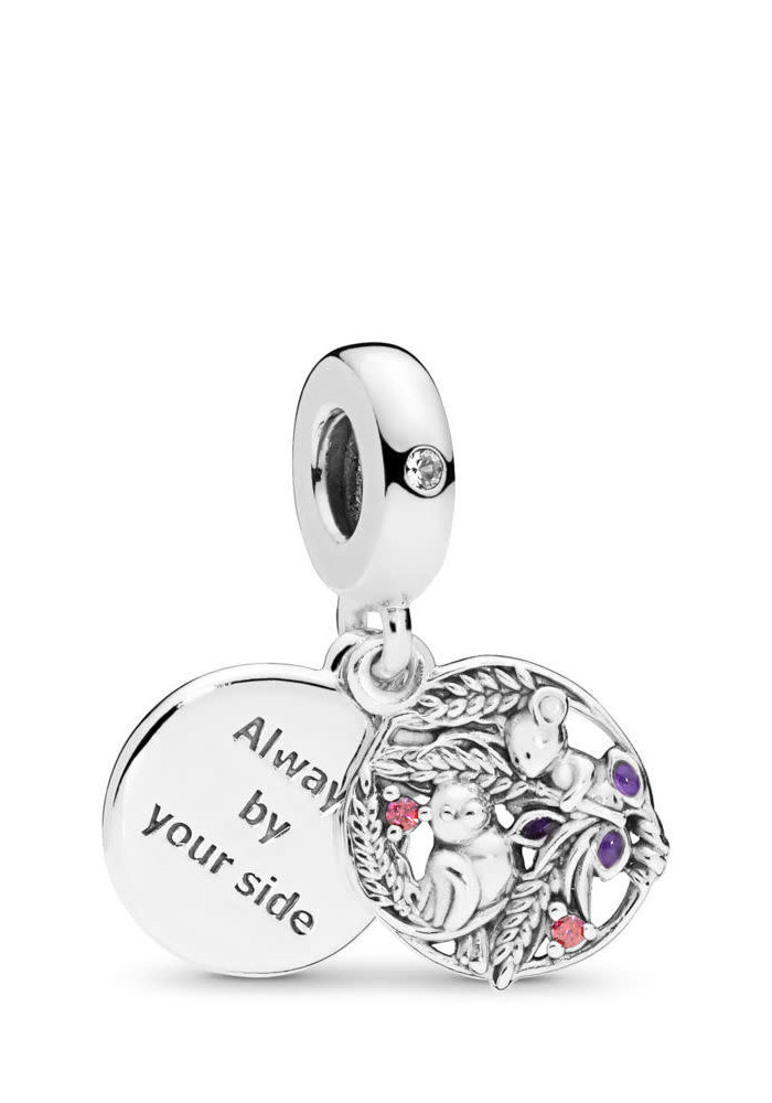 Always By Your Side Dangle Charm