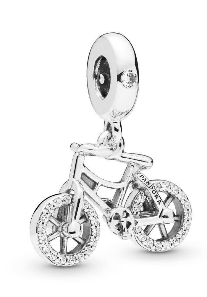 Brilliant Bicycle Dangle Charm
