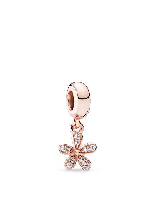 Pandora Dazzling Daisy Dangle Charm, PANDORA Rose™