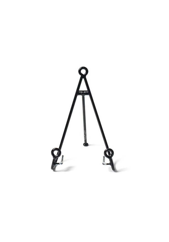 Medium Loop Plate Stand Black