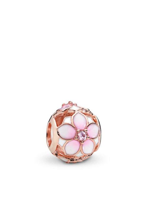Pandora Magnolia Bloom Charm, PANDORA Rose™