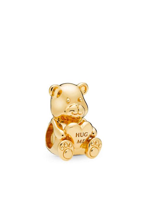 Pandora Theodore Bear Charm, PANDORA Shine™
