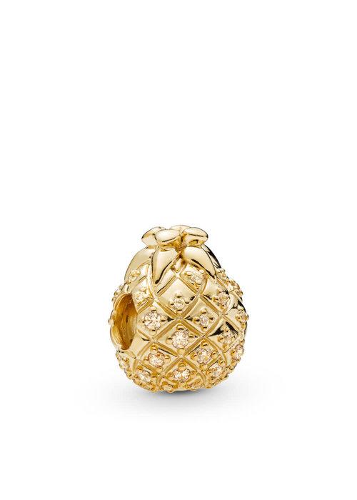 Pandora Golden Pineapple Charm, Pandora Shine™