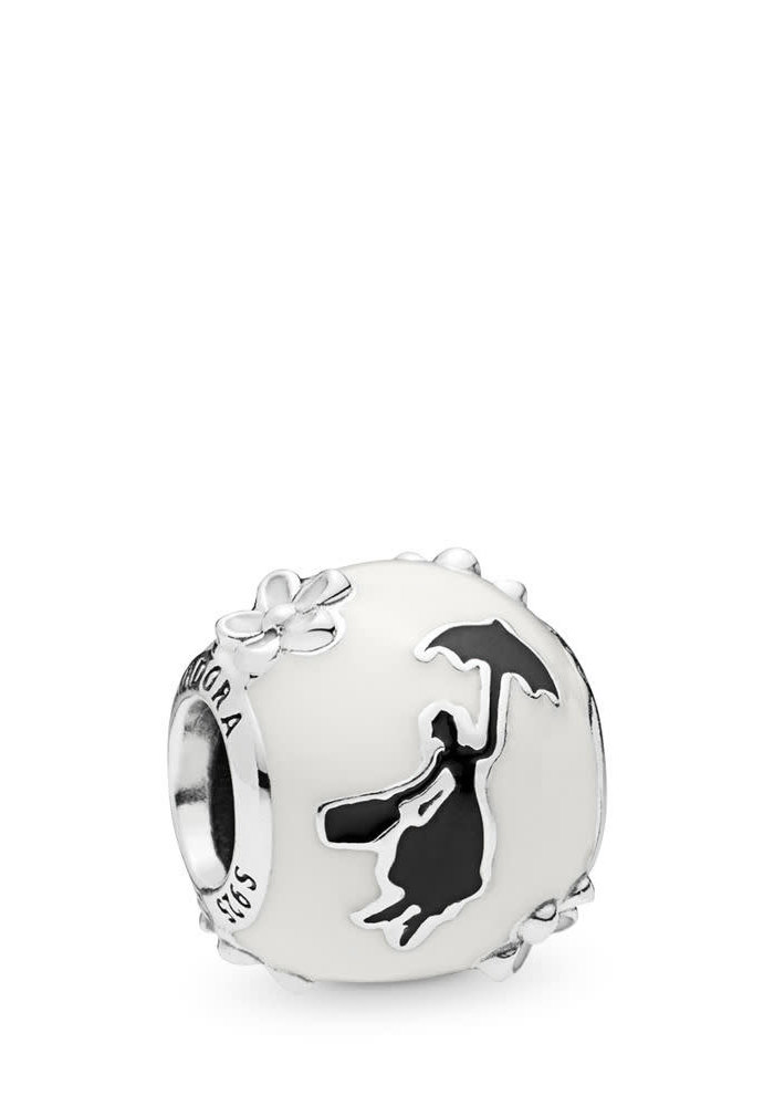 Disney, Mary Poppins' Silhouette Charm