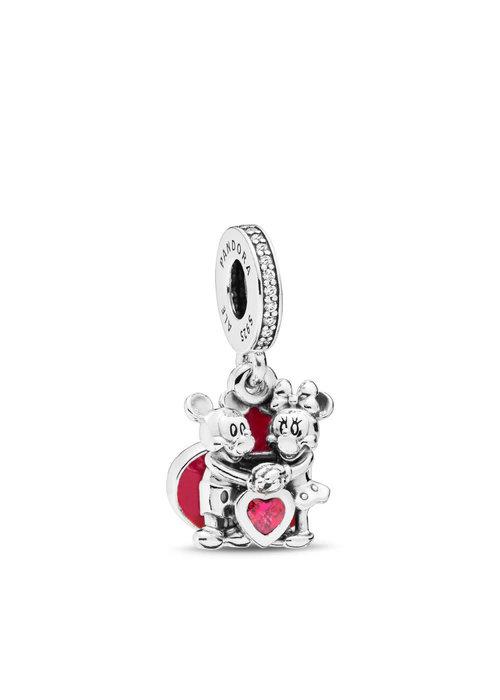 Pandora Disney, Minnie & Mickey With Love Charm