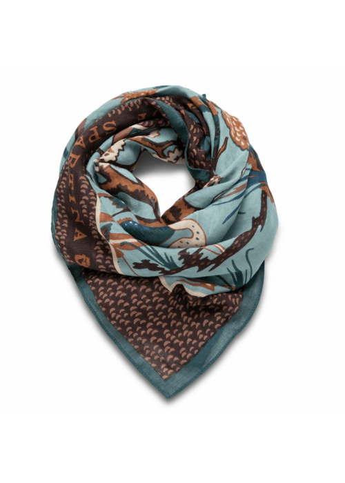 Spartina 449 Low Country Toile Square Scarf