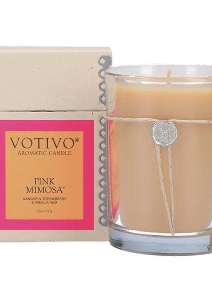 Pink Mimosa 6.8oz Candle
