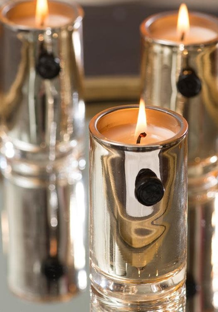 Red Currant Gold Glimmer Votive