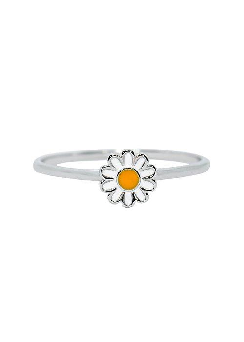 Pura Vida Silver Daisy Ring