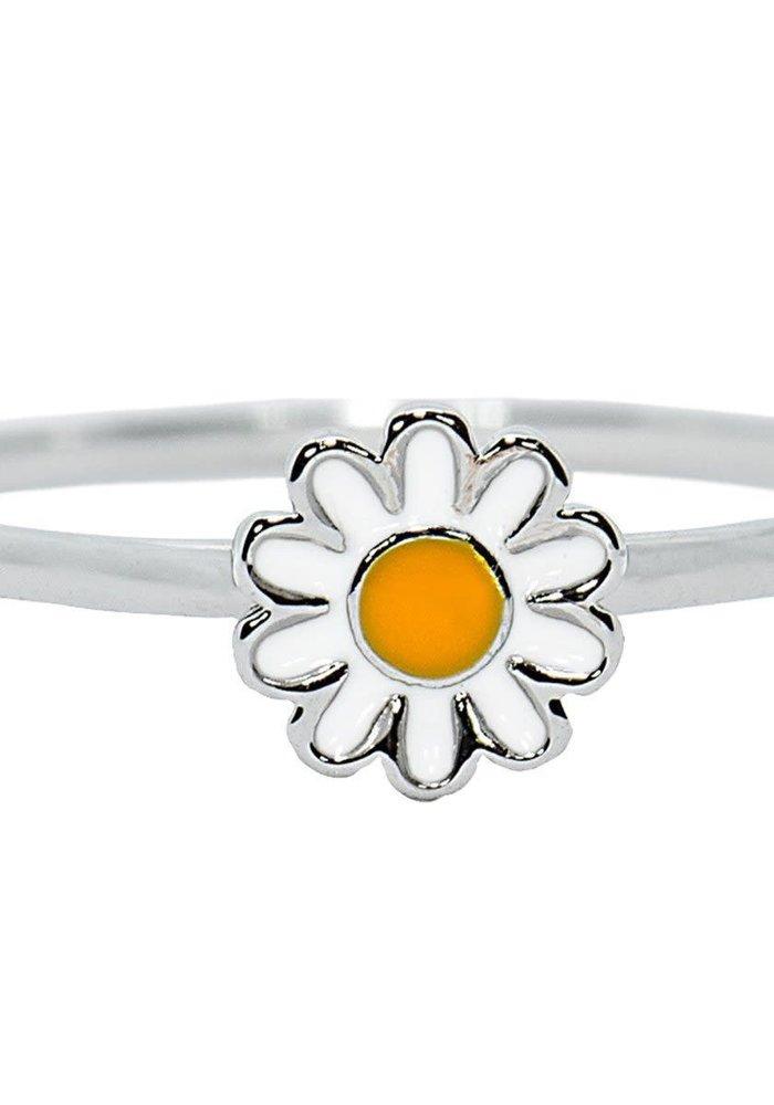 Silver Daisy Ring