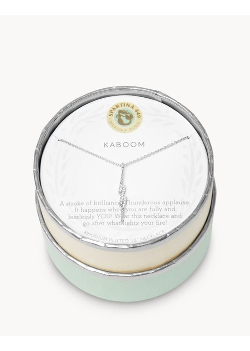 """Spartina 449 Sea La Vie """"Kaboom"""" Gift Message Necklace"""