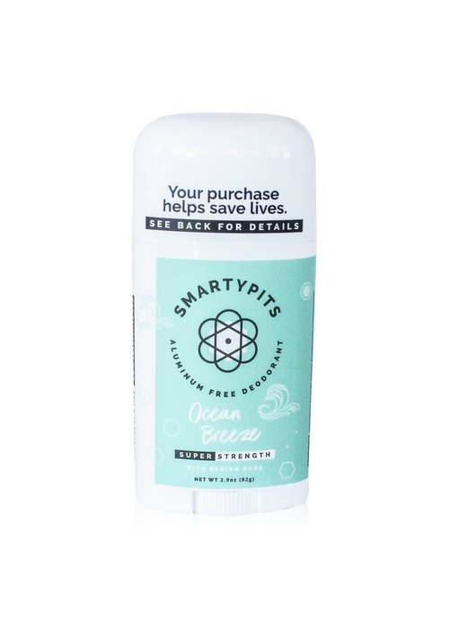 SmartyPits SmartyPits Natural Aluminum-Free Deodorant (Limited Edition) Ocean Breeze