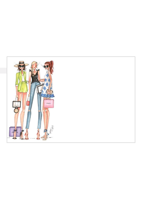 "Brittany Fuson ""Gal Pals"" Brittany Fuson™ Notecards"