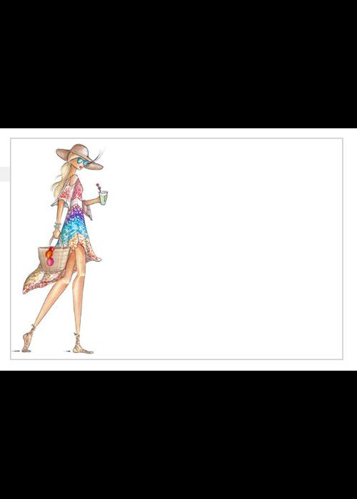 "Brittany Fuson ""Mai Tai"" Brittany Fuson™ Notecards"