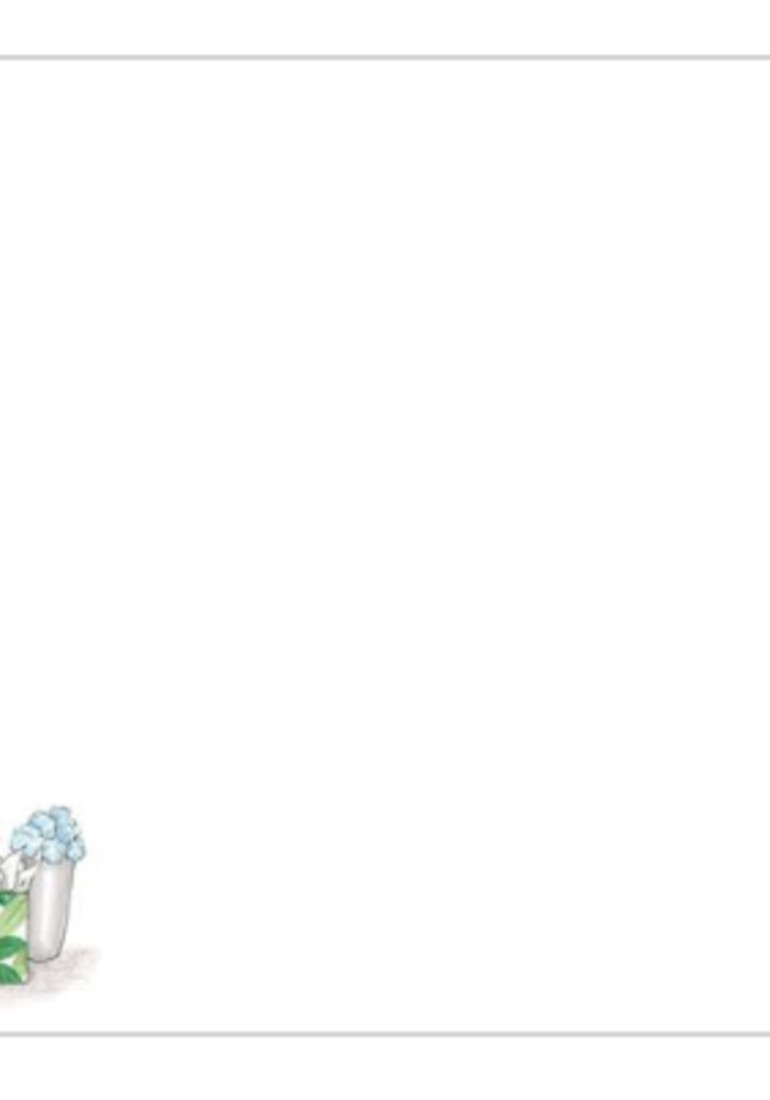 """Hydrangea"" Brittany Fuson™ Notecards"