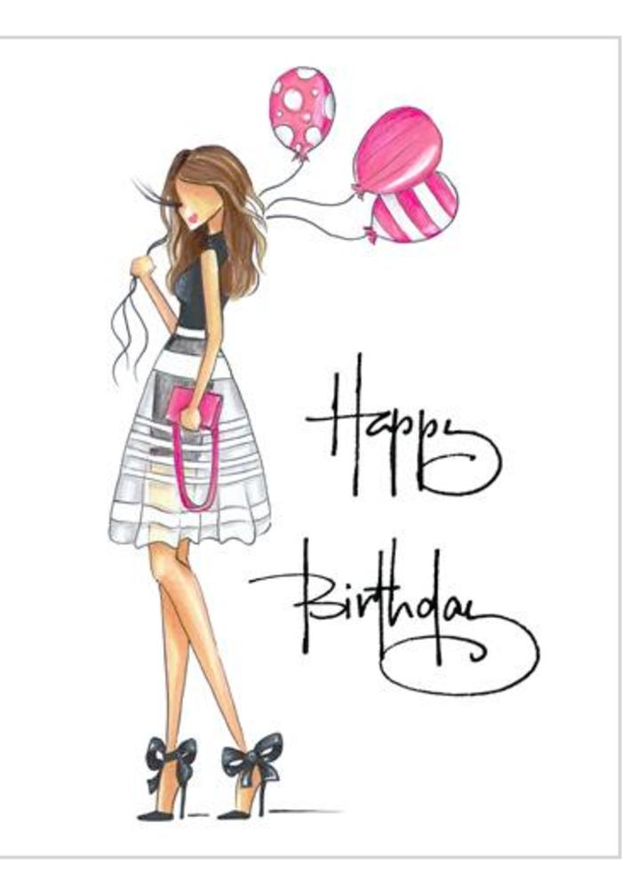 """Bows"" Brittany Fuson™ Greeting Card"