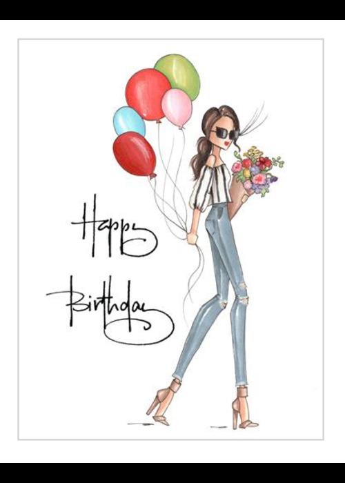 """Brittany Fuson """"Wilder"""" Brittany Fuson™ Greeting Card"""