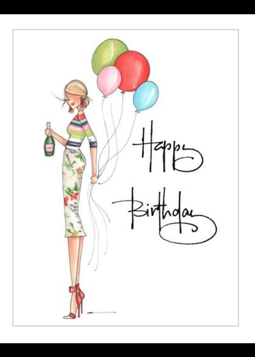 """Brittany Fuson """"Jenn"""" Brittany Fuson™ Greeting Card"""