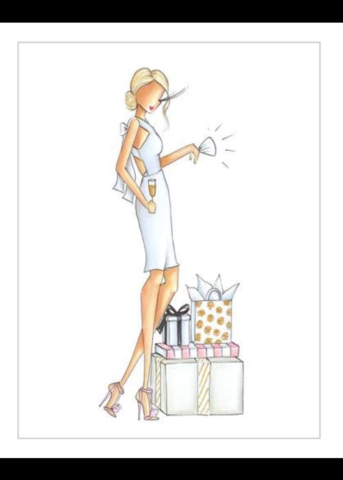 """Brittany Fuson """"Ava"""" Brittany Fuson™ Greeting Card"""