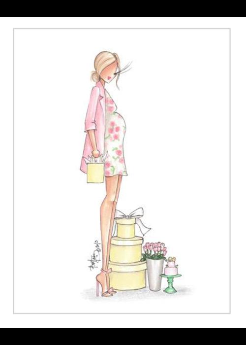 """Brittany Fuson """"Tulip"""" Brittany Fuson™ Greeting Card"""