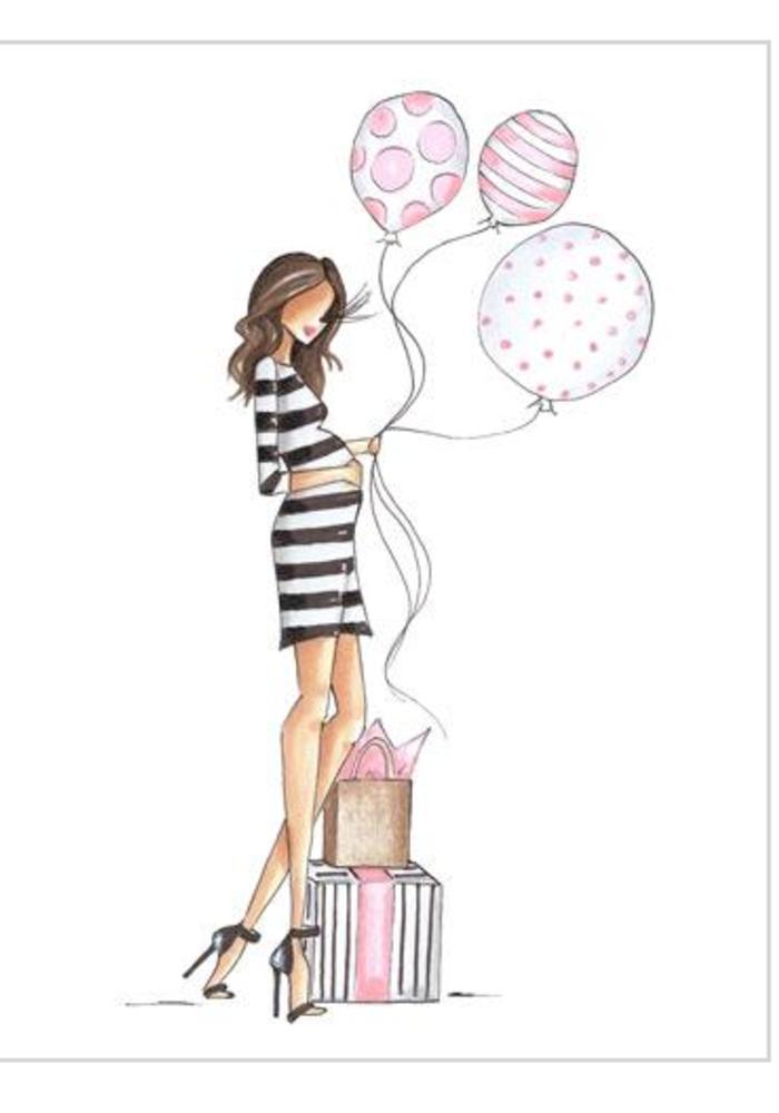 """Pink Peonies"" Brittany Fuson™ Greeting Card"
