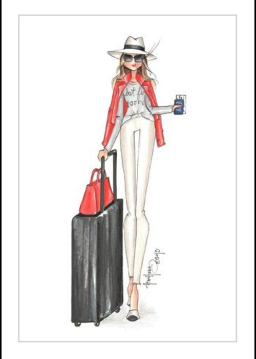 """Brittany Fuson """"Hartsfield"""" Brittany Fuson™ Luggage Tag"""