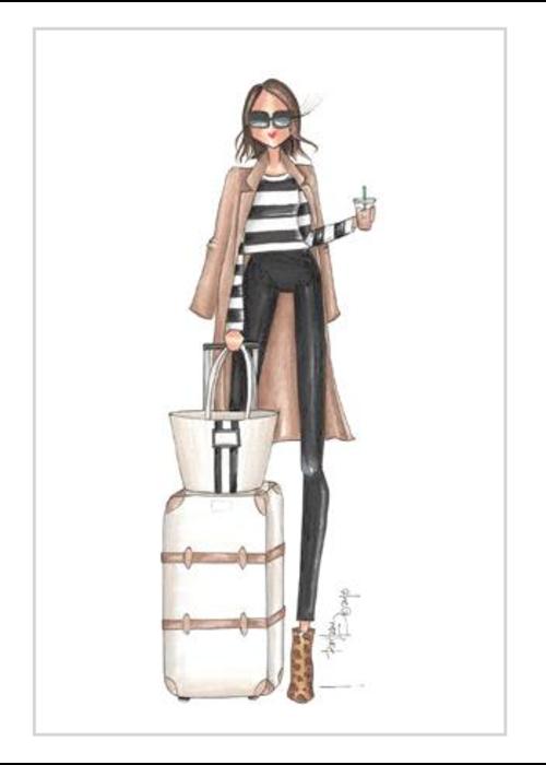 """Brittany Fuson """"Heathrow"""" Brittany Fuson™ Luggage Tag"""