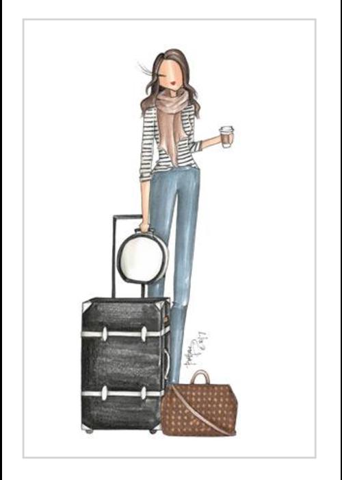 """Brittany Fuson """"BNA"""" Brittany Fuson™ Luggage Tag"""
