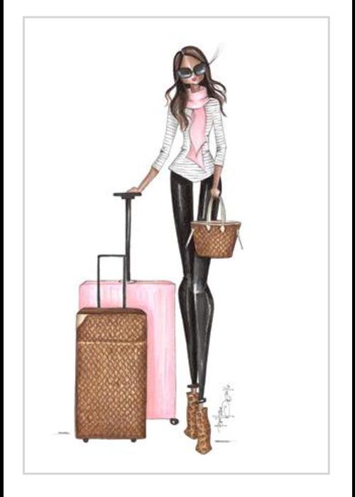 """Brittany Fuson """"Malika"""" Brittany Fuson™ Luggage Tag"""