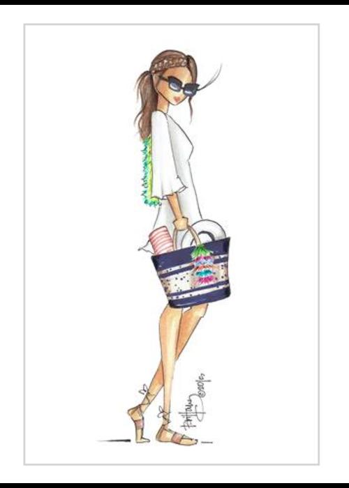 """Brittany Fuson """"Bahama Mama"""" Brittany Fuson™ Luggage Tag"""