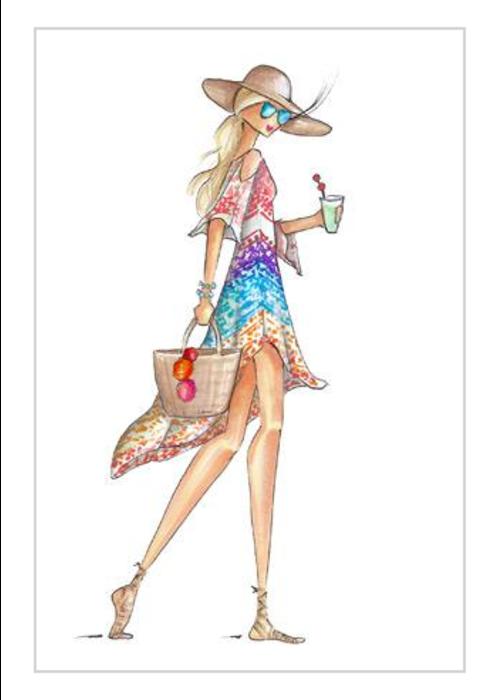"Brittany Fuson ""Mai Tai"" Brittany Fuson™ Luggage Tag"