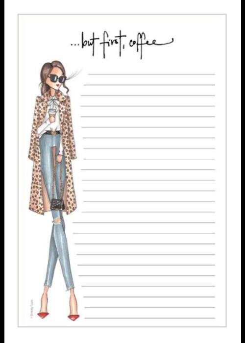 "Brittany Fuson ""Latte"" Brittany Fuson™ Notepad"