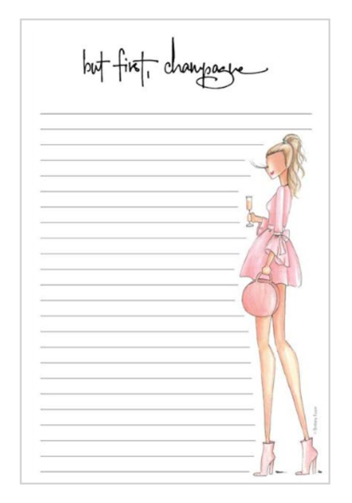 """Brut"" Brittany Fuson™ Notepad"