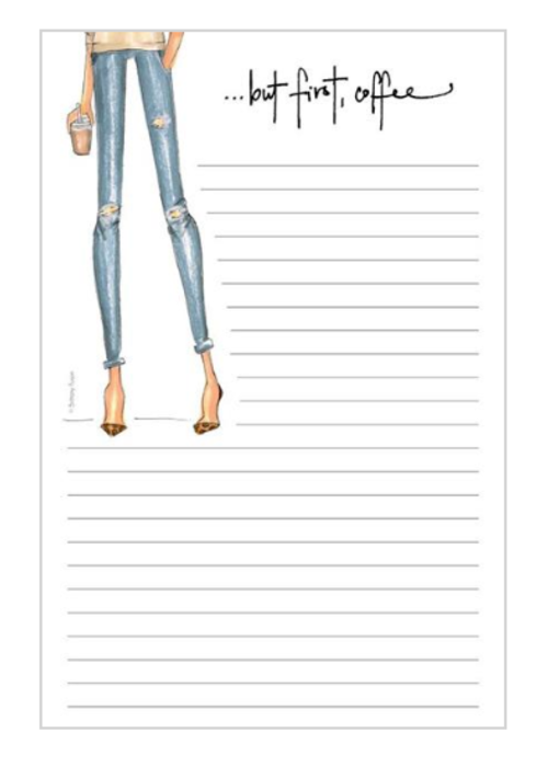 "Brittany Fuson ""Priorities"" Brittany Fuson™ Notepad"