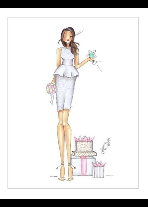 """Brittany Fuson """"Ellen"""" Brittany Fuson™ Greeting Card"""