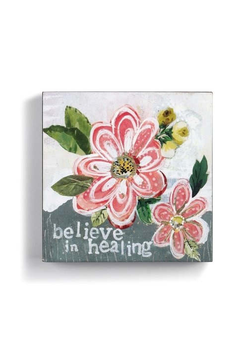 Believe in Healing Wall Art