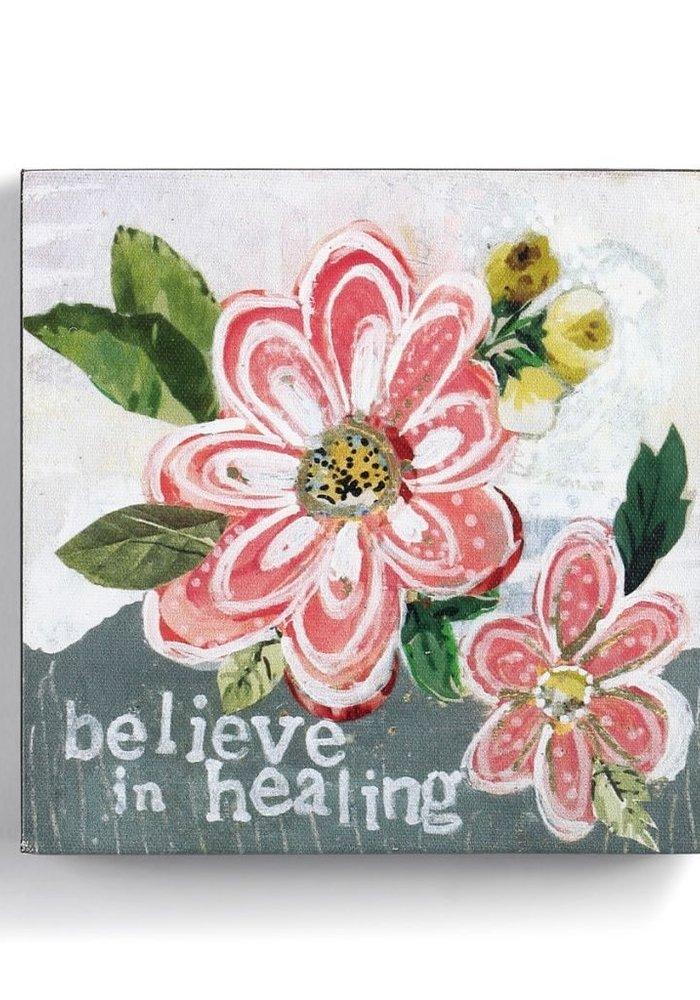 Believe in Healing Wall Art