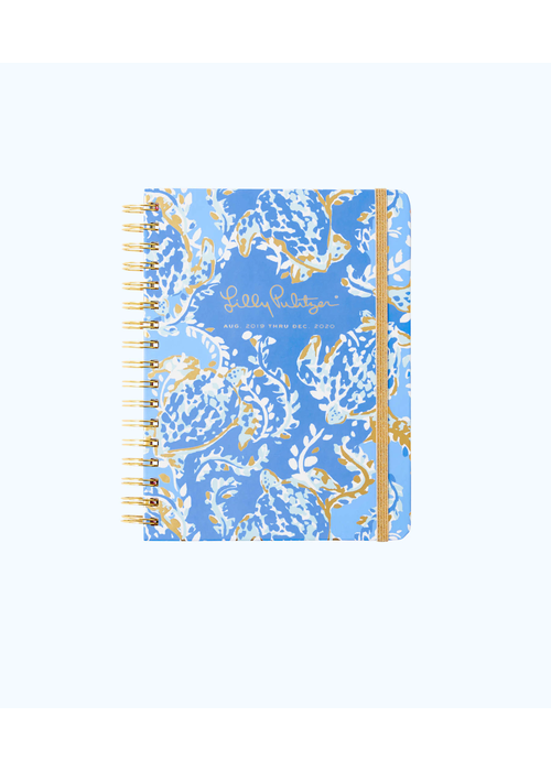 Lilly Pulitzer 17 Month Large Agenda - Turtley Awesome