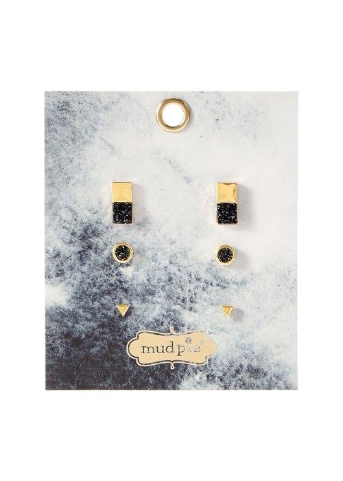 Mudpie Druzy Earring Pack