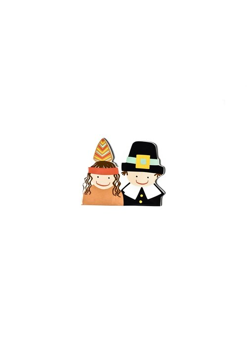 Happy Everything Pilgrim and Indian Mini Attachment