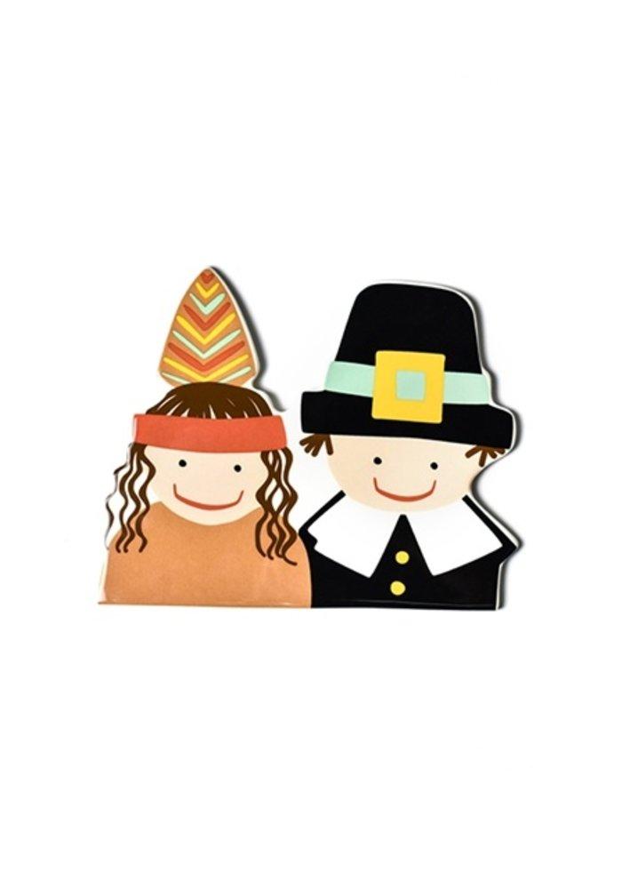 Pilgrim and Indian Mini Attachment