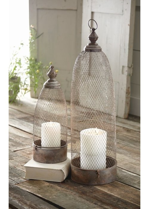 Mudpie Copper Lanterns (Set of 2)