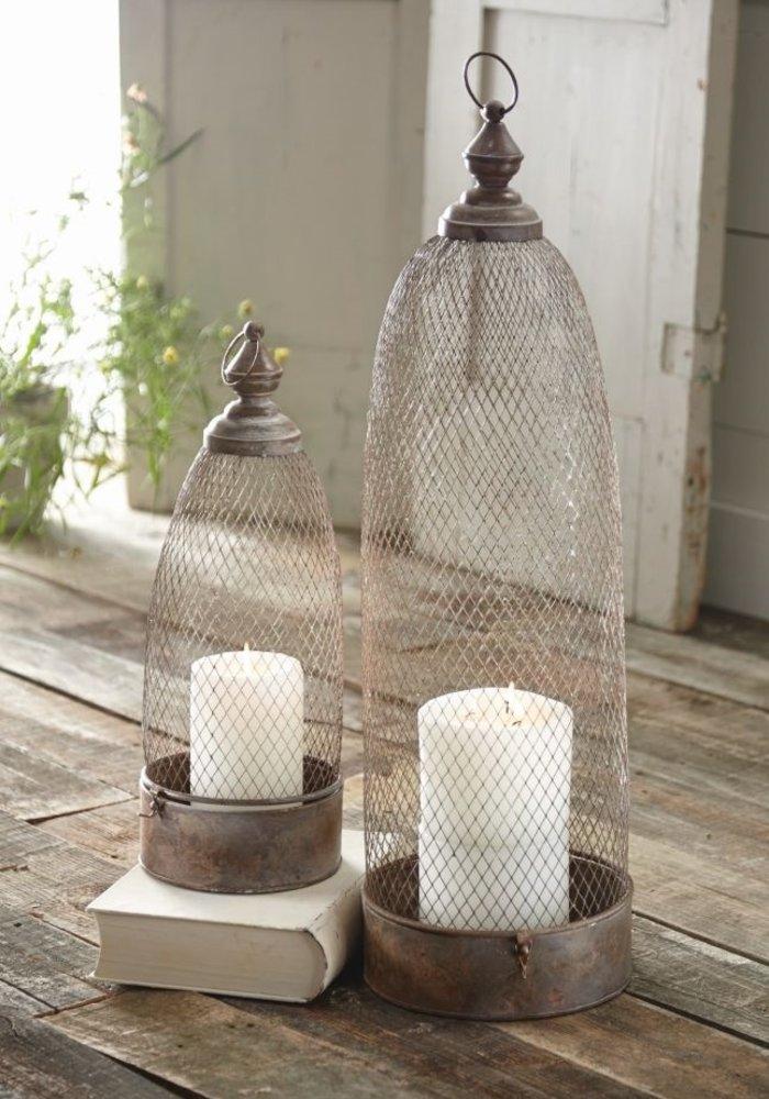 Copper Lanterns (Set of 2)