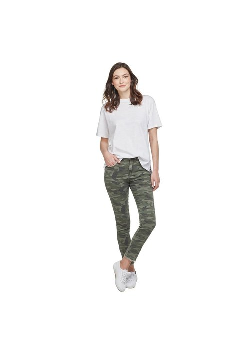 Mudpie Rory Green Camo Jeans